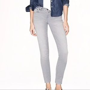 J.CREW toothpick ankle jeans
